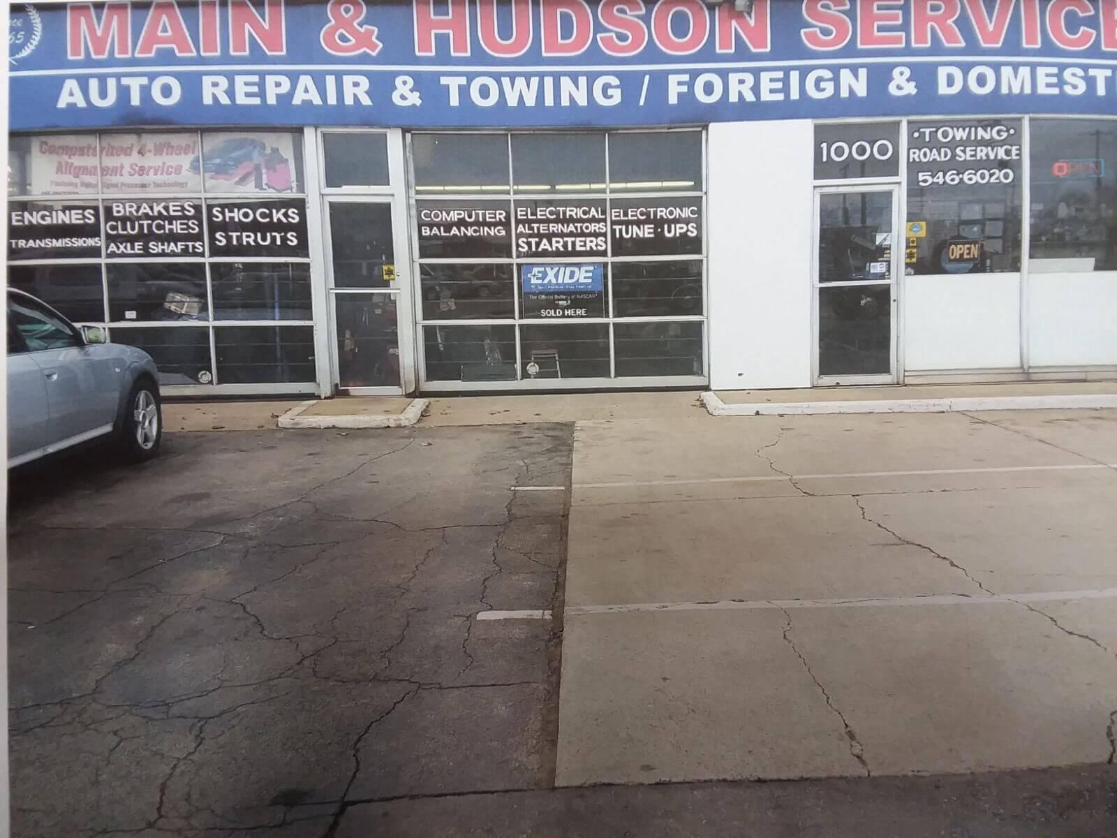 Front of shop 2- M&H